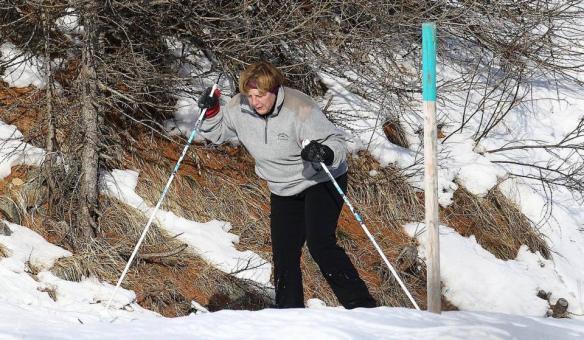 Angela Merkel morda potrebuje kakšen nasvet glede svoje tekaške tehnike. vir: www.welingelichtekringen.nl