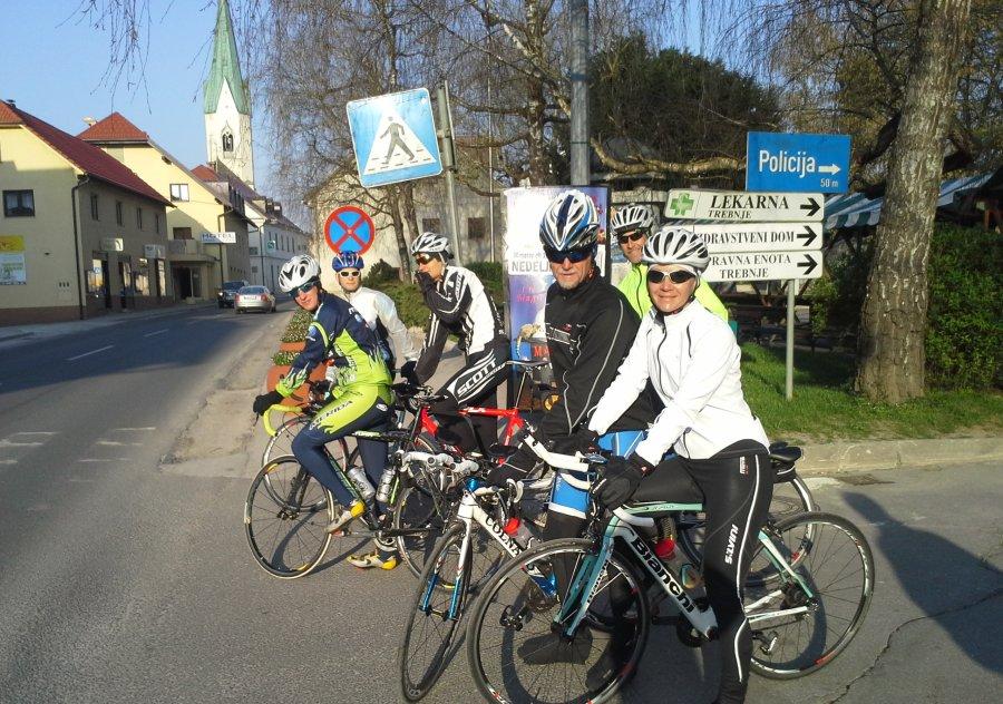 Trebje kolesarjenje 2014